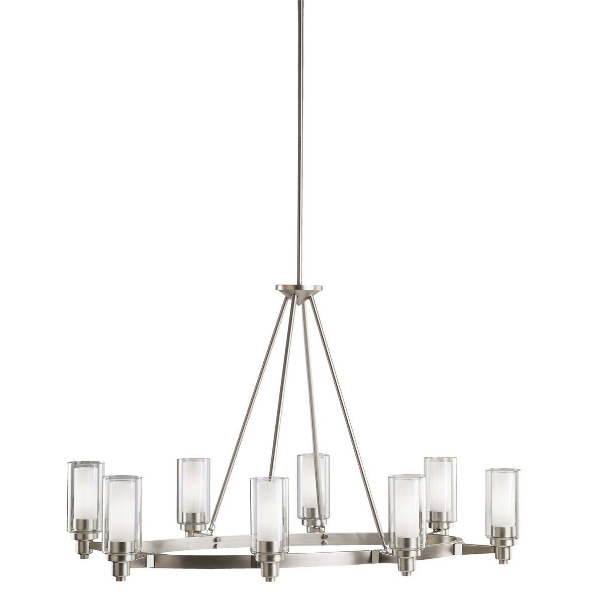 office chandelier lighting. Kichler 2345OZ Circolo Oval Chandelier 8-Light, Olde Bronze - Ceiling Pendant Fixtures Amazon.com Office Lighting