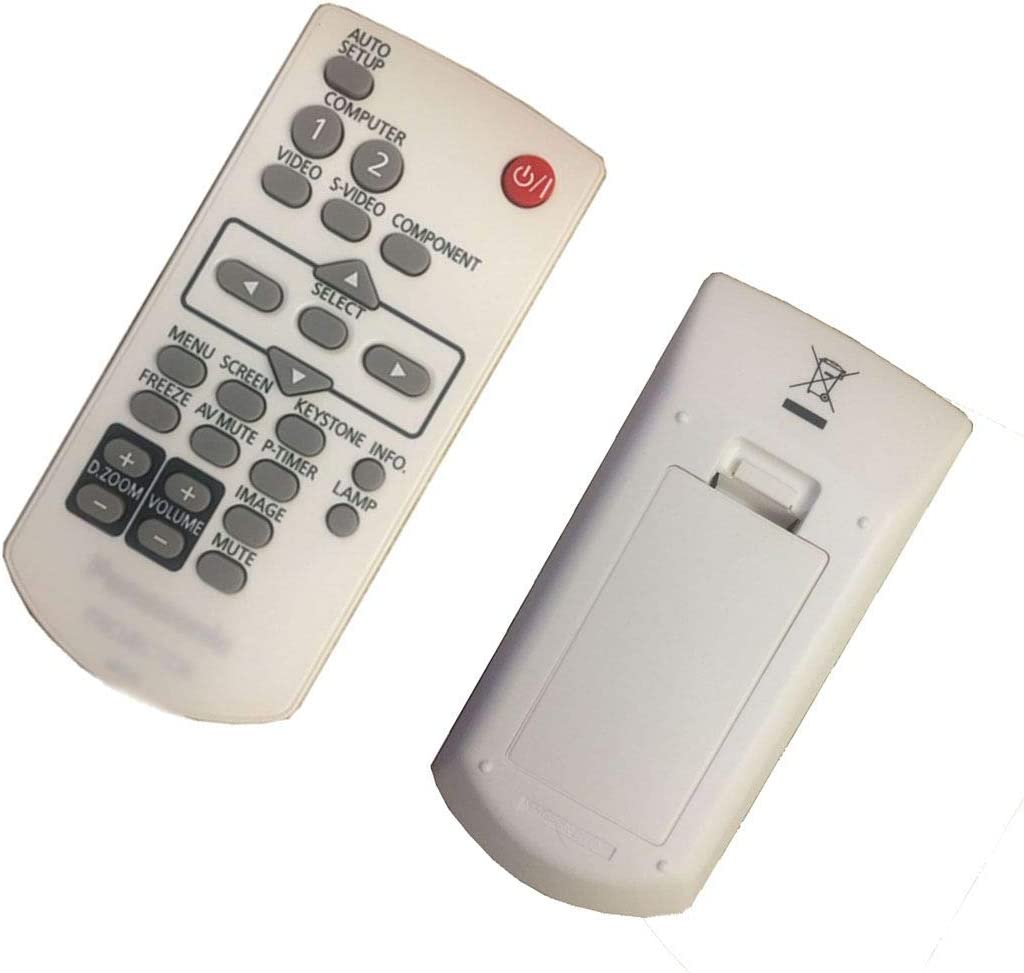 E-LukLife - Mando a Distancia de Repuesto para proyector Panasonic ...