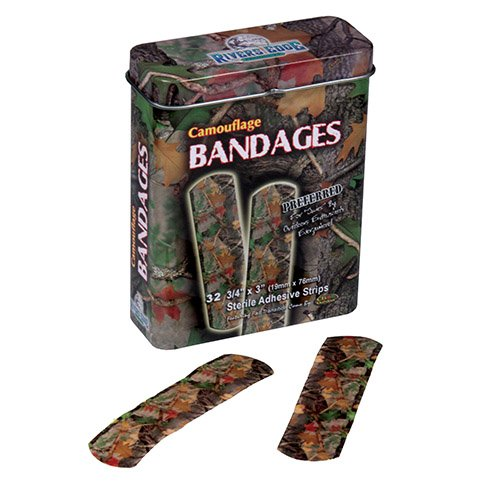 Camouflage Bandages made our CampingForFoodies hand-selected list of 100+ Camping Stocking Stuffers For RV And Tent Campers!