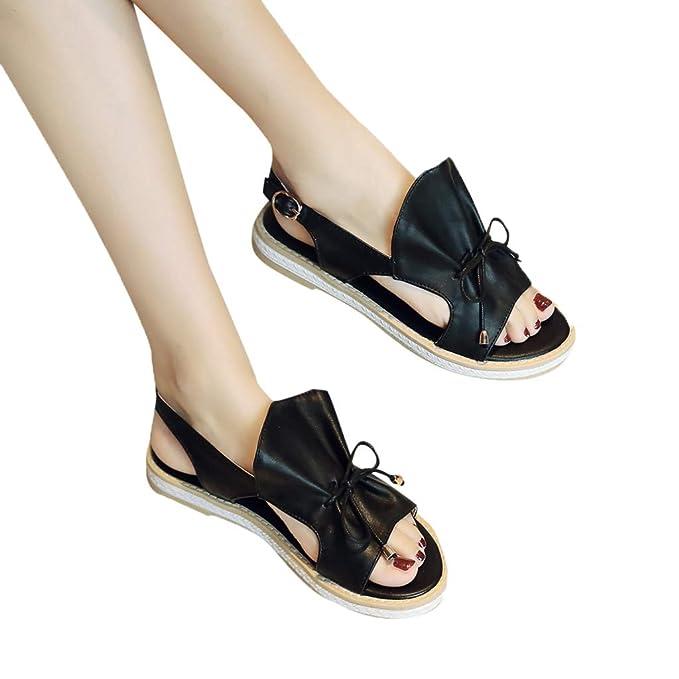 af2a52d911f48 Amazon.com: Amlaiworld Women Flatfrom Sandals Shoes Fashion Summer ...