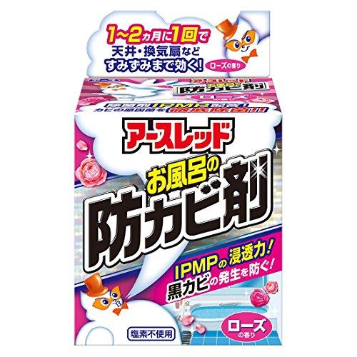 アース製薬 アースレッド お風呂の防カビ剤 ローズの香り 6g