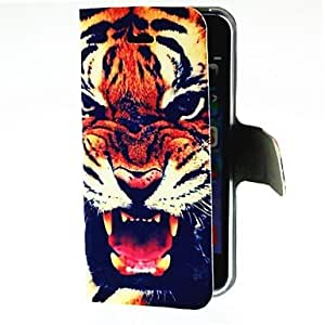 TOPAA Roaring Tiger Pattern Full Body Case for iPhone 4/4S