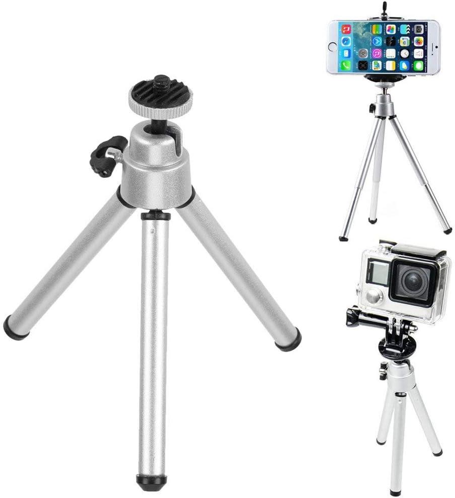 Store-Decorative Mini Tripod Portable Folding Table Tripod Desktop Stand Aluminum Alloy Stabilizer Tripode for Cameras Smart Phones