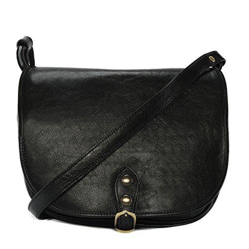 CUIR nouvelle collection femme DESTOCK souple grand 2018 Cloé Sac cuir Modèle modèle main Noir à r71rnPU