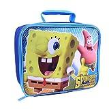Global Design Concepts SpongeBob and Patrick Lunch Kit, Blue