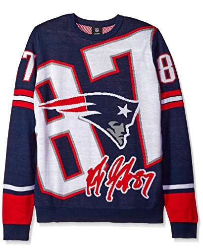 New England Patriots Gronkowski R. #87 Loud Player Sweater - Mens Extra Large