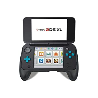 Nintendo 2DS XL 2017 Mango agarre con soporte (negro ...