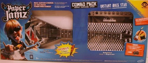 PAPER JAMZ Combo Pack, Guiter ,Amplifier and Strap
