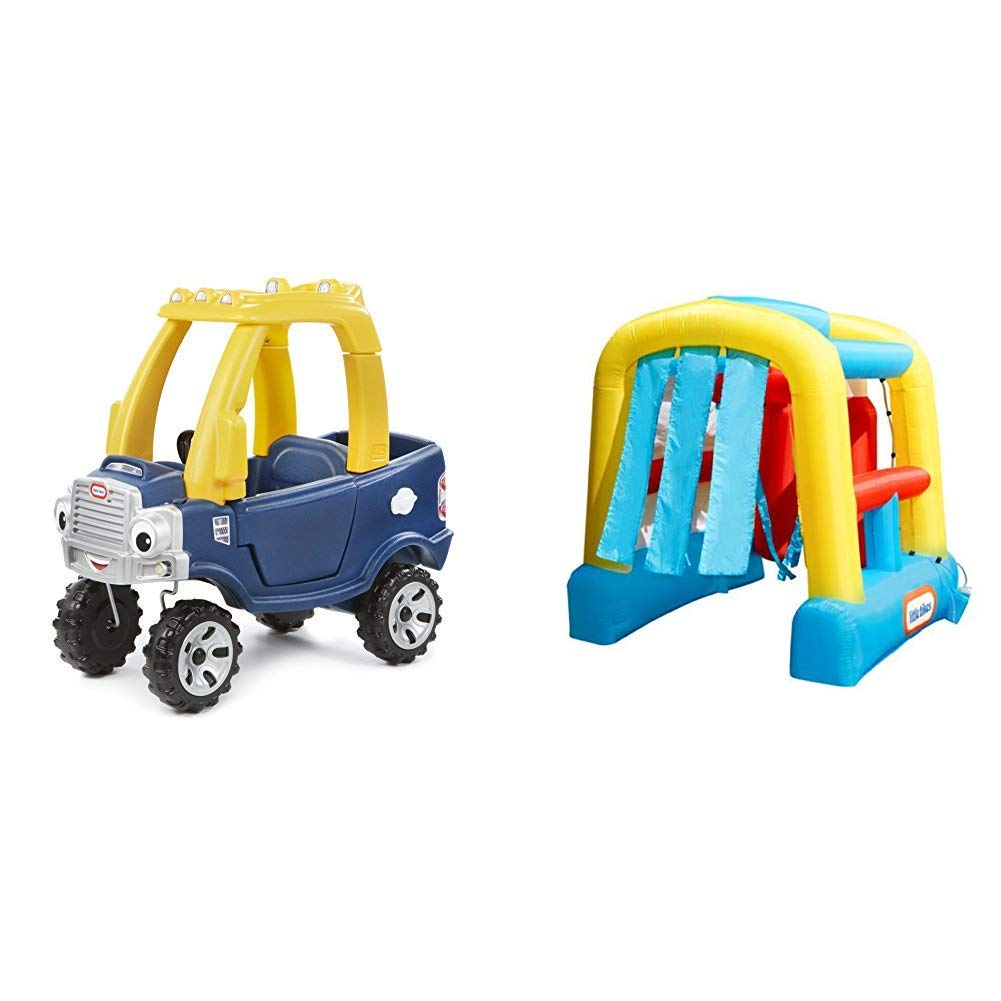 Little Tikes Cozy Truck and Wacky Wash - Bundle