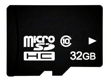 Adamdsy Tarjeta Micro SD 256 GB, microSDXC 256 GB Tarjeta De Memoria + Adaptador SD para cámaras, tabletas y Android Smartphones (K158-DR) (32 GB)