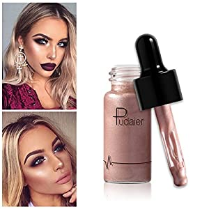 GARYOB Liquid Highlighter Makeup Glow Face Contour Bronze Make Up, Waterproof Glitter Brighten Shimmer Highlighter