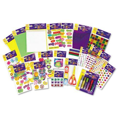 Creativity Street : Scrapbookin` Kids Class Pack, Assorted Materials -:- Sold as 2 Packs of - 1 - / - Total of 2 Each