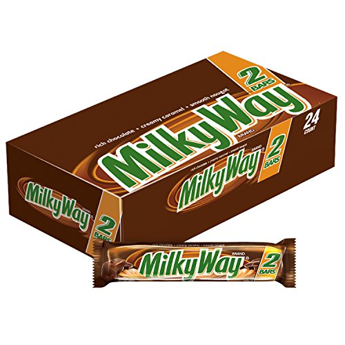 MILKY WAY Milk Chocolate Sharing Size Candy Bars 3.63-Ounce 24-Count Box