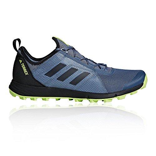 adidas Herren Terrex Agravic Speed Traillaufschuhe Grau (Rawste/Cblack/Sslime Rawste/Cblack/Sslime)