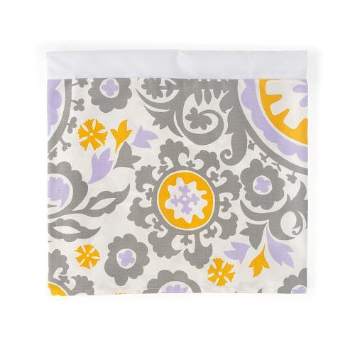 Sweet Potato Fiona Twin Skirt Suzani, Purple/White/Grey/Yellow by Sweet Potatoes