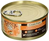 Holistic Select Grain Free Turkey & Salmon Pate Re...