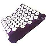 White Lotus Anti Aging Acupressure Pillow, The Acupressure Mat and Pillow Won Best Acupressure Mat Set Vergleich.org 2018, The Acupuncture Pillow Gives Stress Relief And Relieves Sleep Problems. The Only Acupressure Mat Pillow Or Bed Of Nails Pillow Hand Made In Europe To EU standards, Made With Memory Foam, No Glue and Non Allergenic Dyes And Ethical Manufacturing DESIGNED BY ACUPUNCTURISTS TO WORK