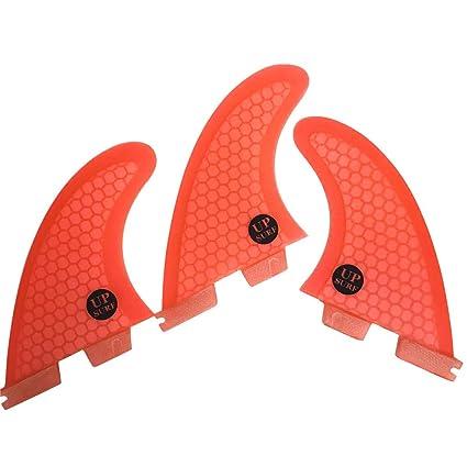 UPSURF Tabla de Surf FCS II Aletas G5//G7 Tres Aletas Panal Fibra de Vidrio