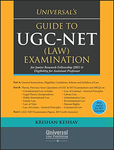 Buy Universal's Guide to UGC-NET (LAW) Examination for Junior