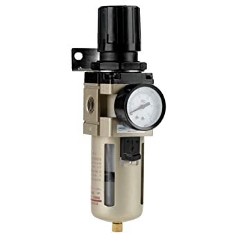 Pneumatic Air Treatment Filter Regulator Mini 0-1MPa Pressure Gauge Compressor