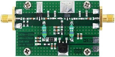 Nuevo 1MHz一1000MHZ 35DB 3W HF VHF UHF Transmisor FM Acabado de la ...