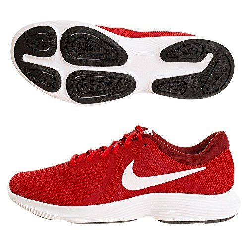 quality design d654f 31c82 Galleon - NIKE Mens Revolution 4 Gym RED White Team RED Black Size 7