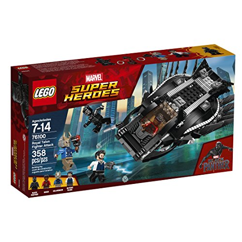 LEGO Marvel Super Heroes Royal Talon Fighter Attack 76100 Building Kit (358 Piece)