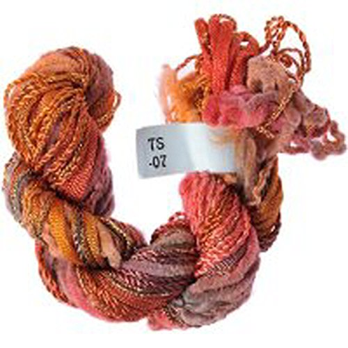 Hand Dyed Multi-Skein Five Different Threads for Embroidery ()