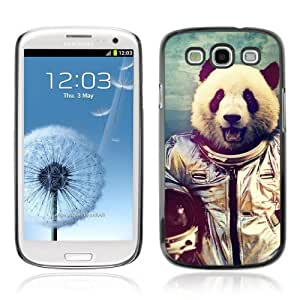 YOYOSHOP [Astronaut Panda Bear] Samsung Galaxy S3 Case Kimberly Kurzendoerfer