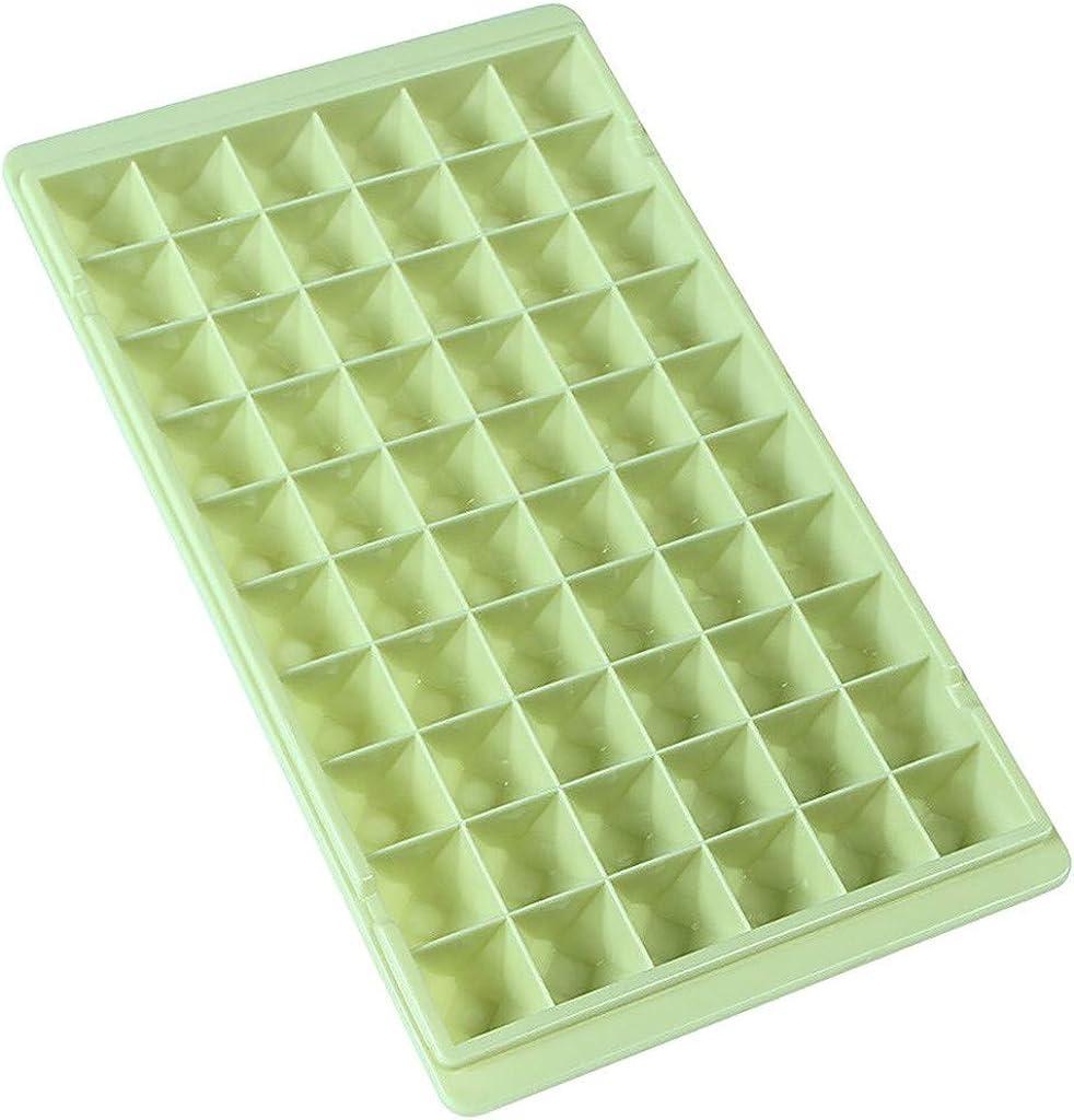Fainosmny Small Ice Cube Tray Frozen Cubes Tray Silicone Ice Maker Mold Cake Mould Baking Mold
