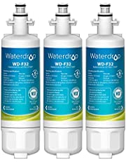Waterdrop 469690 ADQ36006101 Refrigerator Water Filter, Replacement for LG LT700P, ADQ36006102, Kenmore 9690, LFXS30766S, LFXS24623S, FML-3, RFC1200A, WSL-3, 3 Filters, Package May Vary
