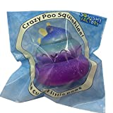Stress Reliever Toys, UBuyit Fun Starry Sky Poo Scented Squishy Toys Charm Slow Rising Simulation Decompression Toy for Kids & Adult