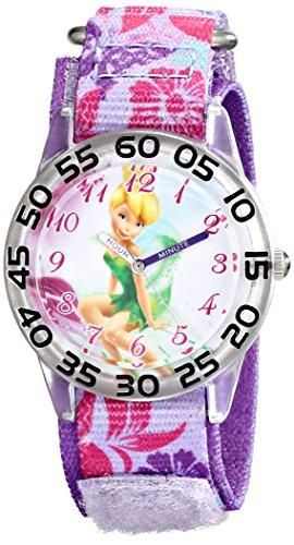 Disney Kids' W001674 Tinker Bell Analog Display Analog Quartz Purple Watch