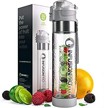 Infusion Pro Water Infuser – with Bottom Infusing Design and Flip Top Locking Spout