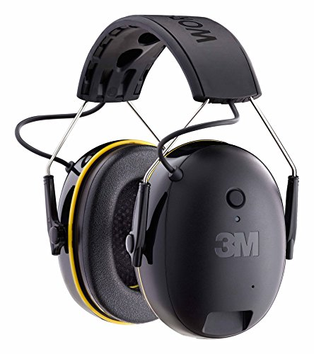 5. 3M WorkTunes Connect Hearing Protector with Bluetooth Technology