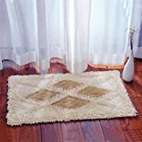 Cotton bathroom water-absorbing mats household mats non-slip door mat bathroom mat -5080cm n