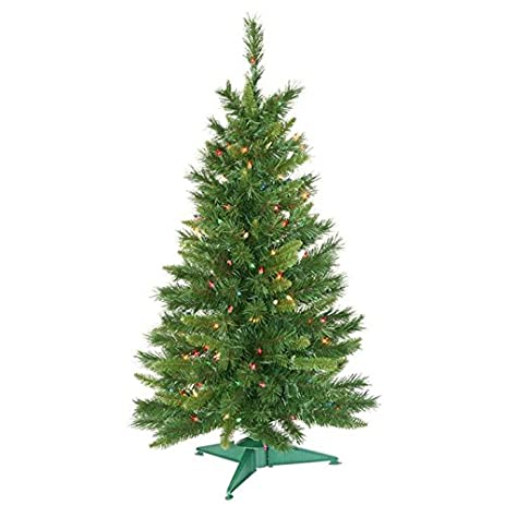 Amazon Com Vickerman Pre Lit Imperial Pine Artificial Christmas  - Vickerman Pre Lit Christmas Trees