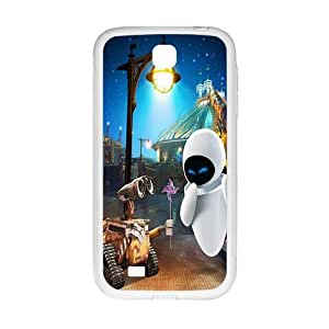 Happy wall-e and eve wide Case Cover For samsung galaxy S4 Case