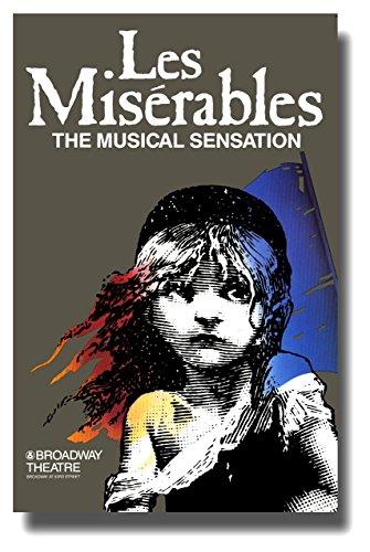 Les Miserables (Broadway) Poster Movie 11x17 Patrick A'Hearn Cindy Benson Jane Bodle David Bryant ()