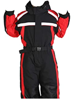 08e266a4b Genm0 One-Piece Snowsuit Ski Suit for Kids Waterproof Windproof Taslon Reflective  Boys/Girls