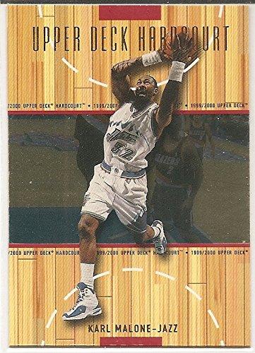 (Karl Malone 1999-00 Upper Deck Hardcourt Utah Jazz Card #55)