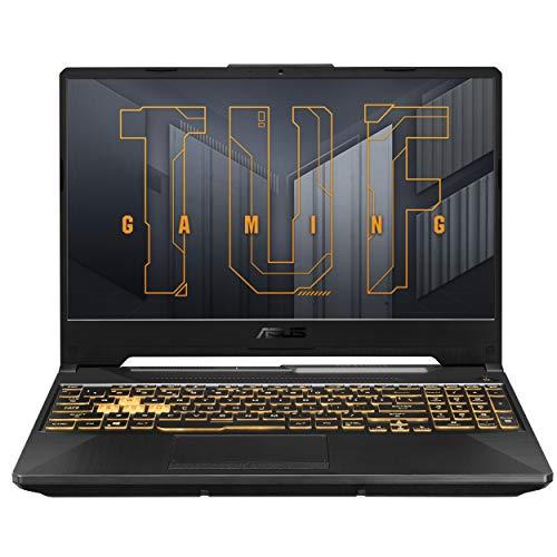 ASUS TUF Gaming F15 (2021), 15.6-inch (39.62 cms) FHD 144Hz, Intel Core i9-11900H 11th Gen, RTX3060 6GB Graphics Gaming Laptop (16GB RAM/1TB SSD/Office 2019/Windows 10/Gray/2.3 kg), FX566HM-HN097TS