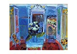 Posters: Raoul Dufy Poster Art Print - Interior With Open Window (39 x 28 inches)