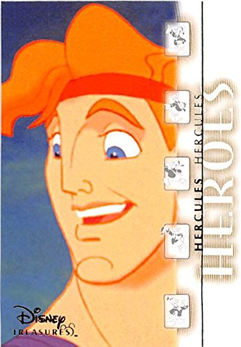 Hercules trading card Disney Heroes and Villains 2003 Upper Deck #119 ()