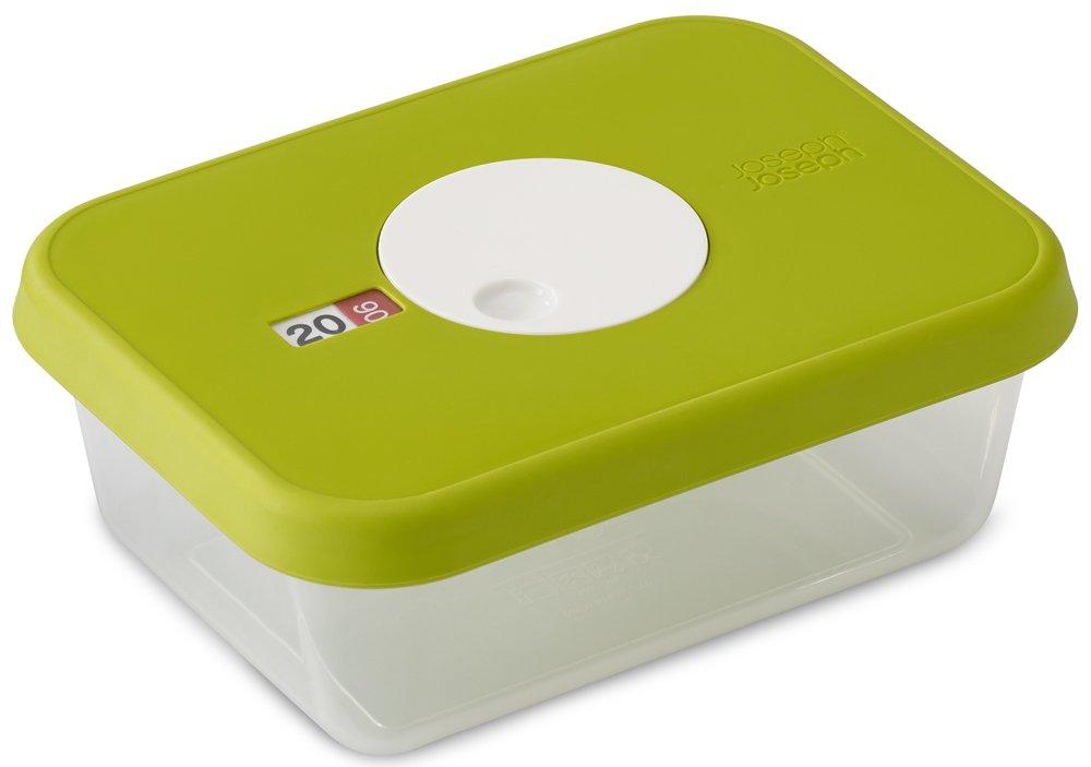 Joseph Joseph 81036 Dial Storage Rectangular Container with Datable Lid 23.7 oz