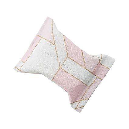 YIYUE Telas El Manual Nórdico Conjunto De Toallas De Papel Papel Higiénico Flamingo Creative Kit Caja