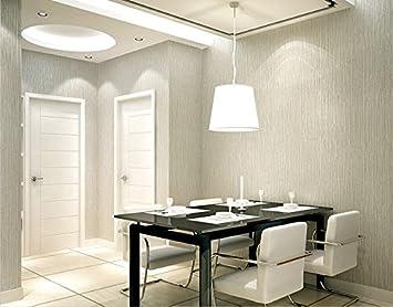 Vliestapete Wallpapers Modern Minimalist Schlafzimmer Wohnzimmer Esszimmer  Arbeitszimmer 3D Nahtlos Uni Farbe Tapete Hellgrau