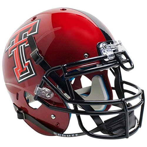 Texas Tech Red Raiders Red Guns Up Officially Licensed XP Authentic Football Helmet