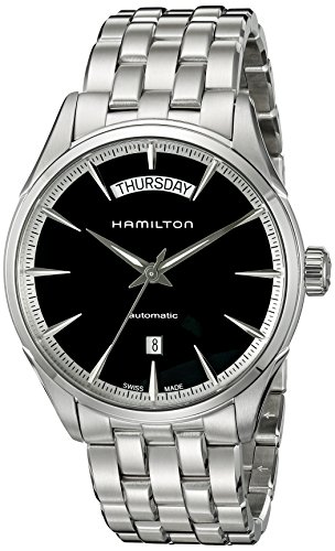 Hamilton Men's H42565131 Jazz master Analog Display Swiss Automatic Silver Watch