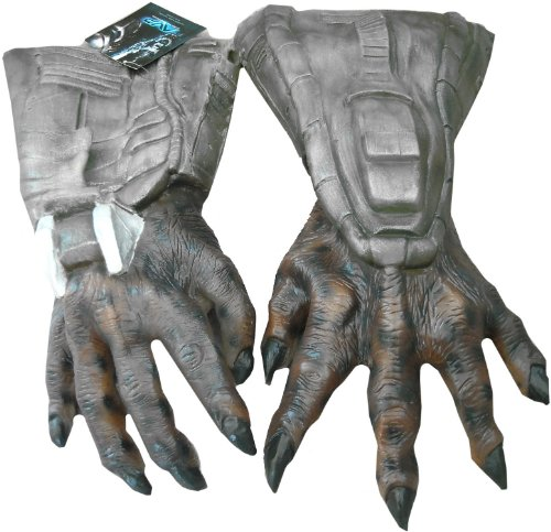Lets Party By Rubies Costumes Predator Deluxe Latex Hands / Gray - Size One - Size